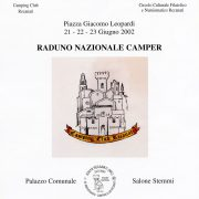 Raduno camper locandina 1